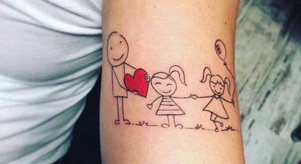 Tatuagem Para Filhos 101 Fotos De Tatuagens Para Filhos