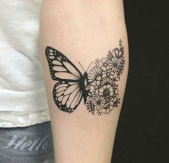 Tatuagens Borboleta 2019 Significado E Fotos 201 Ideias