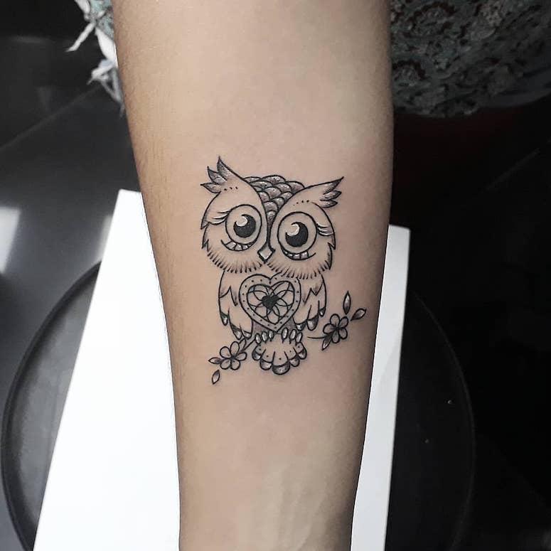 Tatuagem De Coruja 2019 Significado Masculina E Feminina