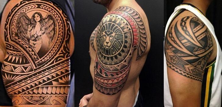 tatuagem maori braco