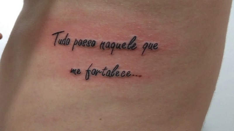 Tatuagem De Frases 135 Inspirações E Ideias Lindas