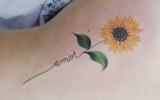 Tatuagem de Girassol