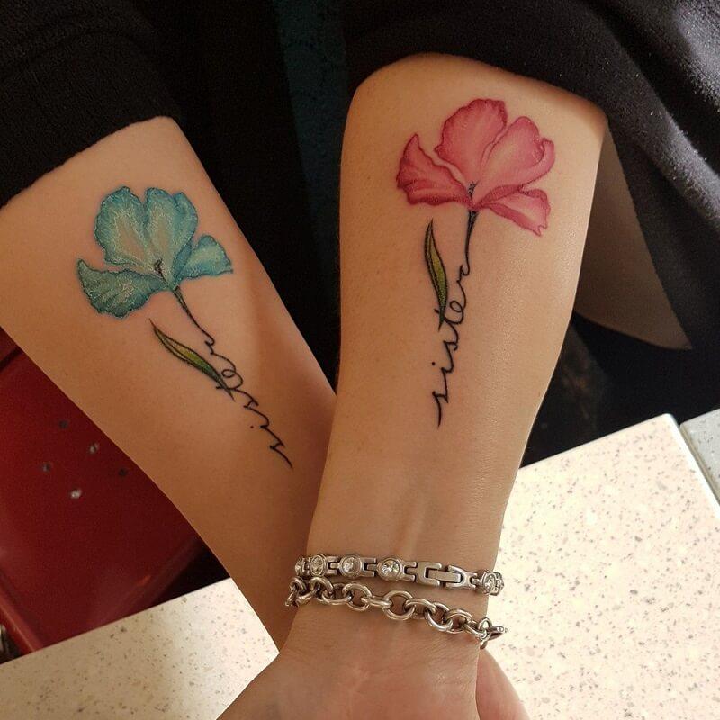 Tatuagem de Irmãs